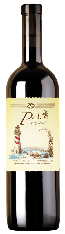 PAN Fünfzehn Flasche